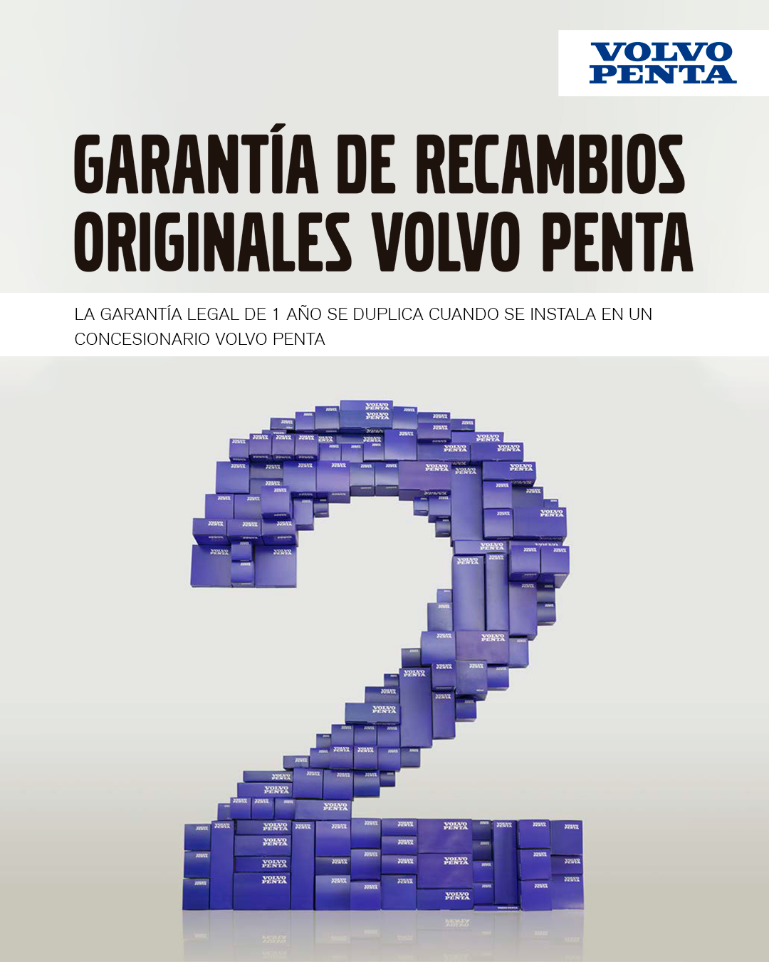 campañas Volvo Penta garantía 2x1