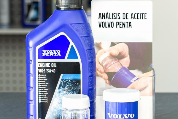 analisis de aceite Volvo Penta