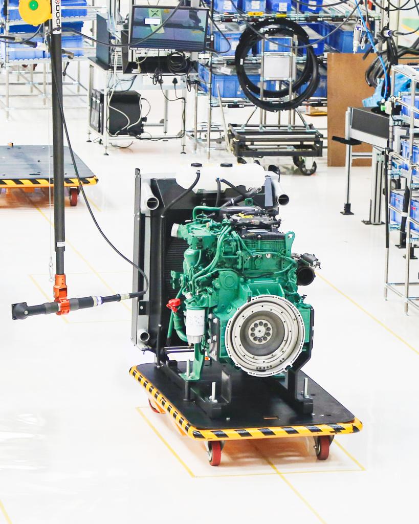 Motores para GENSET Volvo Pent